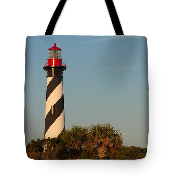 St. Augustine Lighthouse #3 Tote Bag