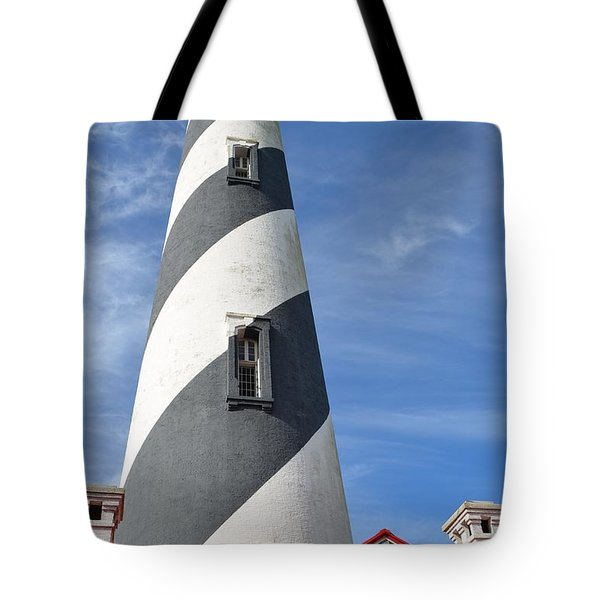 St. Augustine Lighthouse Tote Bag by Richard Bryce and Family
