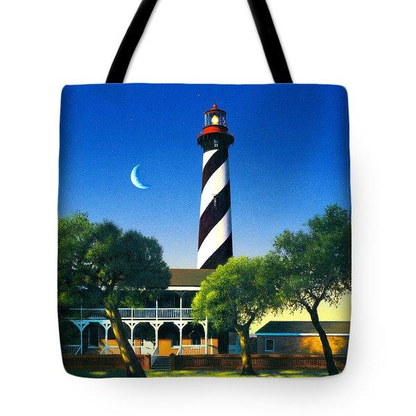 St Augustine Tote Bag by MGL Studio - Chris Hiett