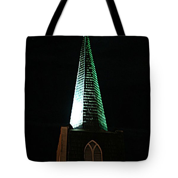 St. Augustine Moon Christmas Card Tote Bag