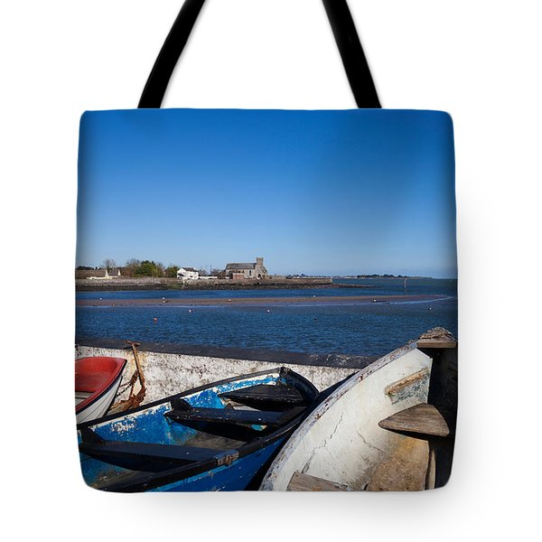 St Augustines Church In Abbeyside Tote Bag