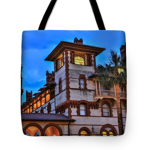 Tote Bag featuring the photograph St. Augustine's View by Paula Porterfield-Izzo