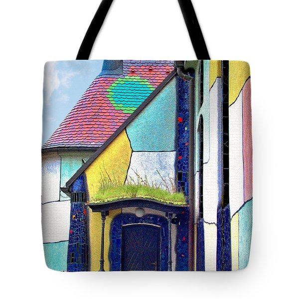 St Barbara Church - Baernbach Austria Tote Bag