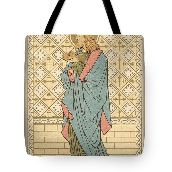 St Barnabas Tote Bag by English School