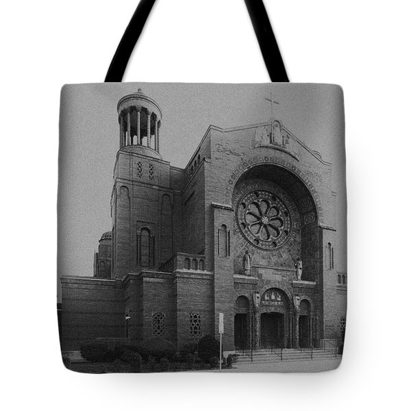 St Casimir's 10267 Tote Bag by Guy Whiteley