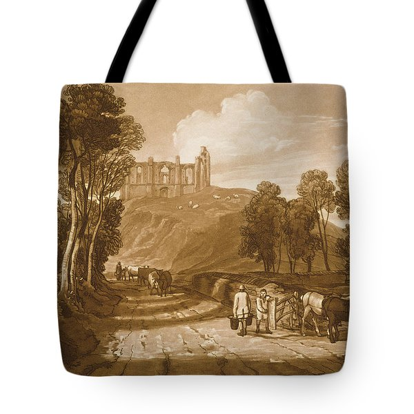 St Catherines Hill Near Guildford Tote Bag by Joseph Mallord William Turner
