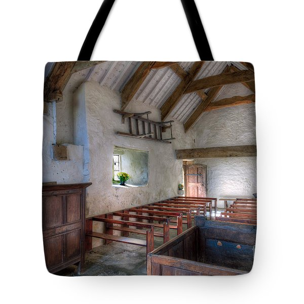 St Celynnin Interior Tote Bag by Adrian Evans