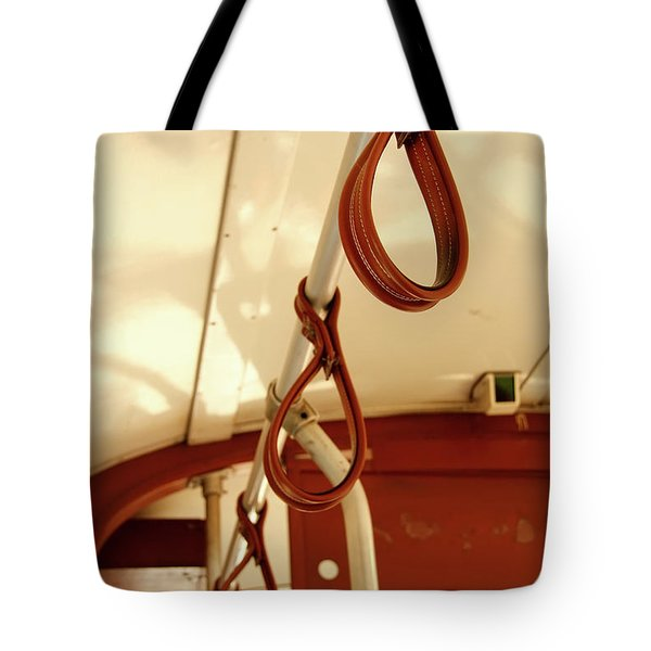 Tote Bag featuring the photograph St. Charles Streetcar by KG Thienemann