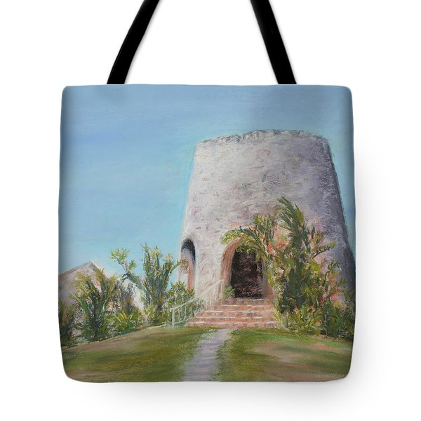 St. Croix Sugar Mill Tote Bag