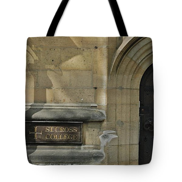 St. Cross College Tote Bag by Joseph Yarbrough