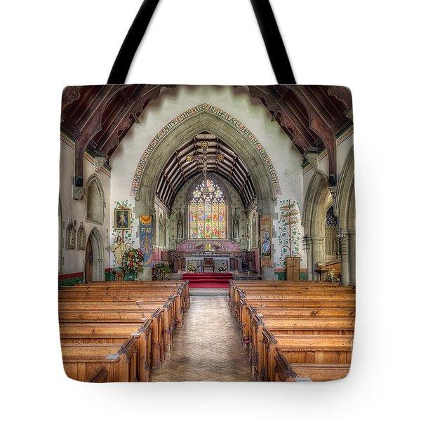 St Davids Church Tote Bag by Adrian Evans