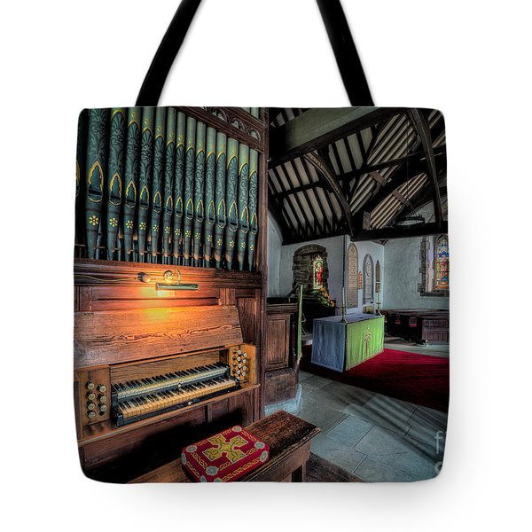St Digains Church Tote Bag by Adrian Evans