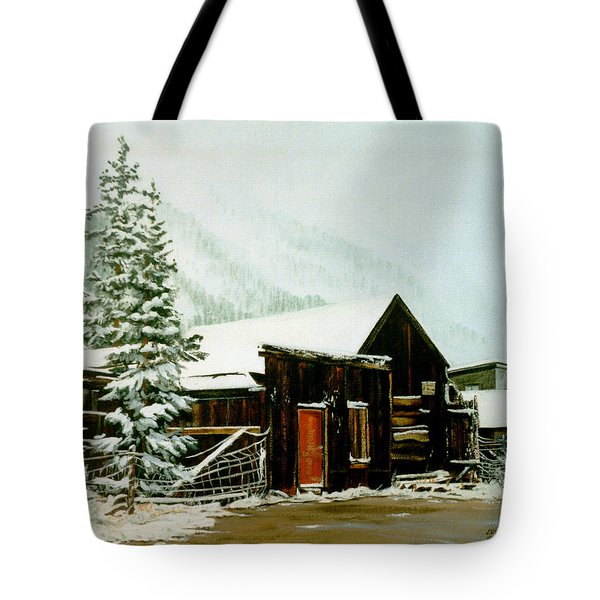 St Elmo Snow Tote Bag