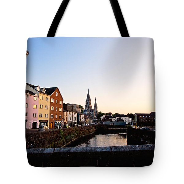 St Finbarrs Cathedral, River Lee South Tote Bag