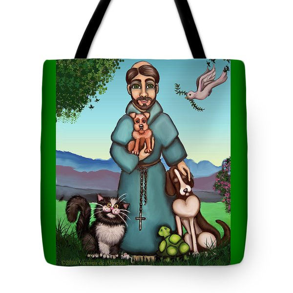St. Francis Libertys Blessing Tote Bag