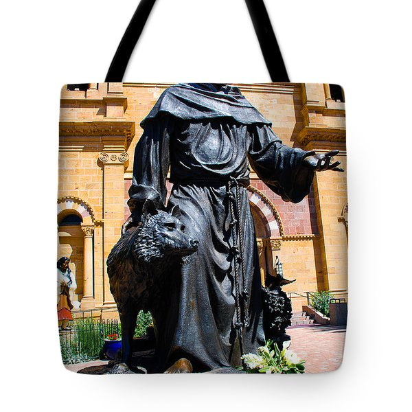 St Francis Of Assisi - Santa Fe Tote Bag by Dany Lison