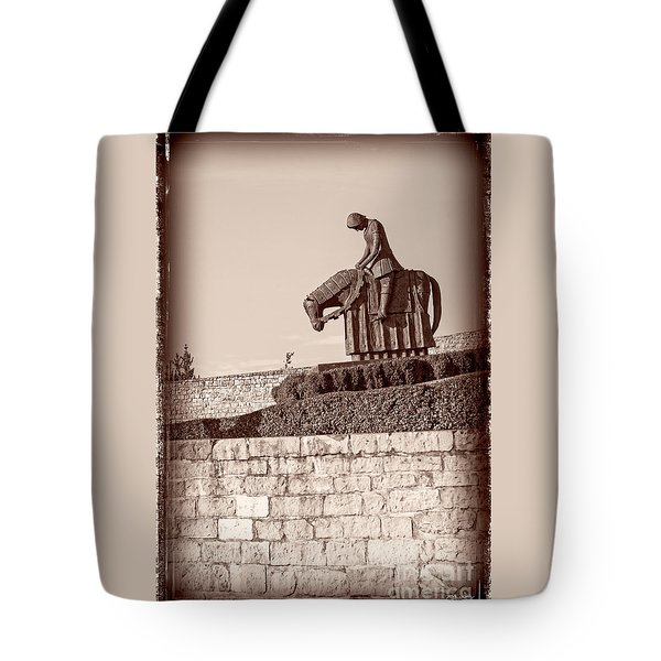 St Francis Returns From Crusades Tote Bag