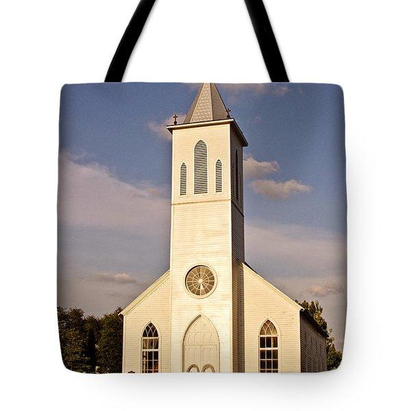 St. Gabriel The Archangel Catholic Church Tote Bag by Scott Pellegrin