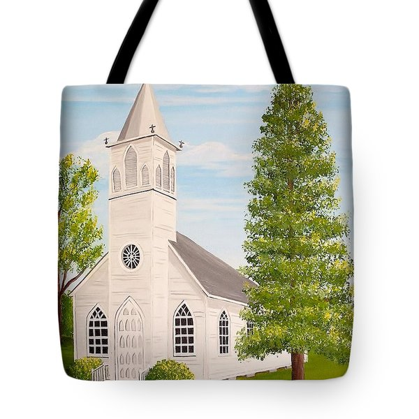 St. Gabriel The Archangel Roman Catholic Church Tote Bag