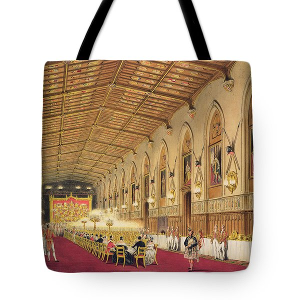 St Georges Hall At Windsor Castle Tote Bag