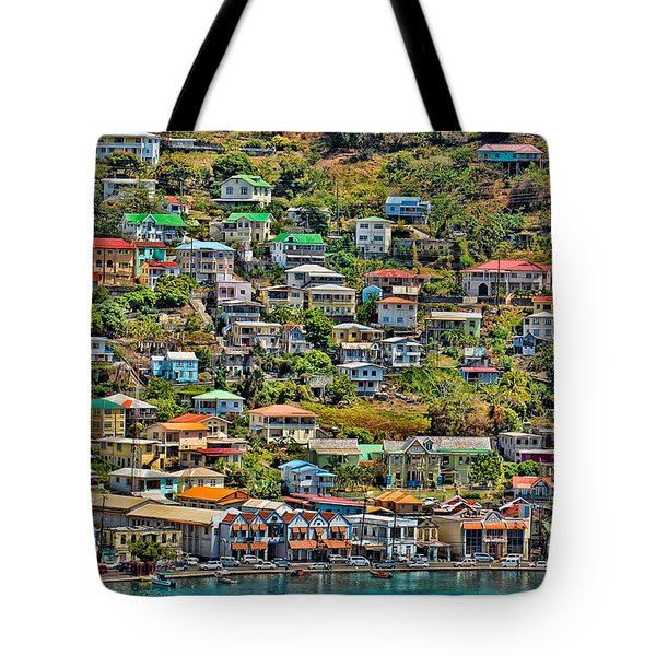 St. Georges Harbor Grenada Tote Bag