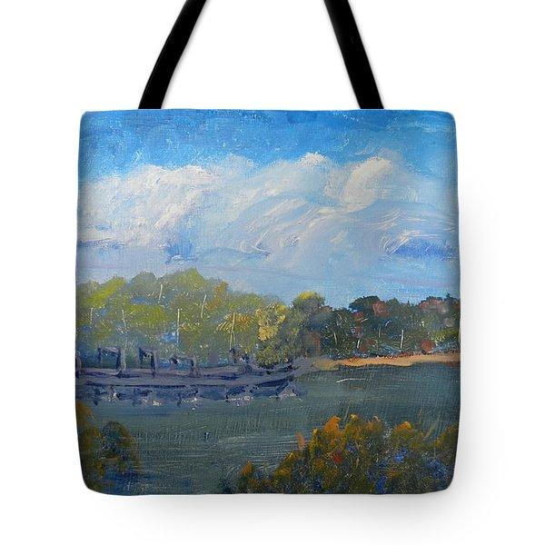 St Georges River Near Como Marina  Tote Bag