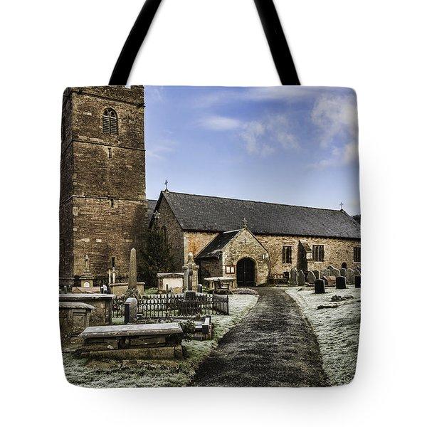 St Gwendolines Church Talgarth 4 Tote Bag