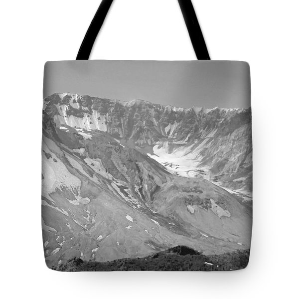 St. Helen's Crater Tote Bag by Tikvah's Hope