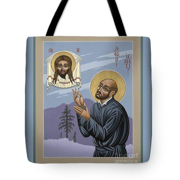 St. Ignatius Amidst Alaska 141 Tote Bag