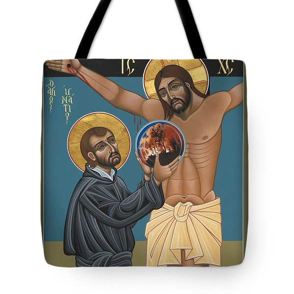 St. Ignatius And The Passion Of The World In The 21st Century 194 Tote Bag