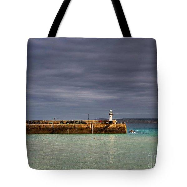 St Ives In Cornwall Tote Bag