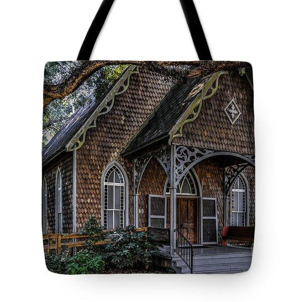 St. James Episcopal Church In Mccellanville Sc Tote Bag