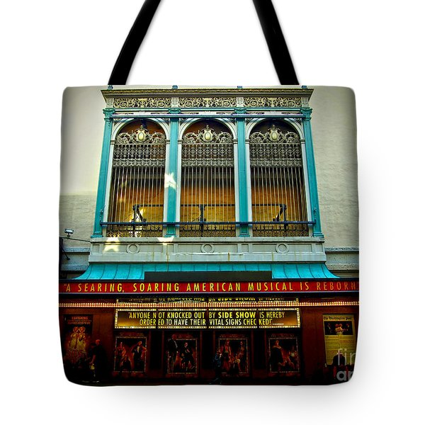 St. James Theatre Balcony Tote Bag