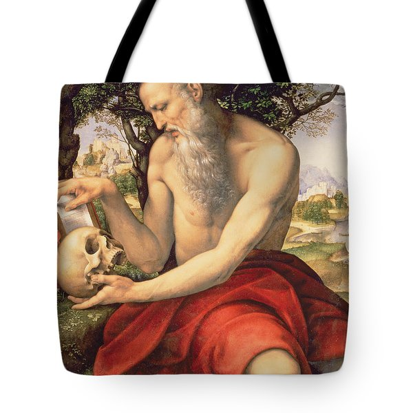 St. Jerome Tote Bag