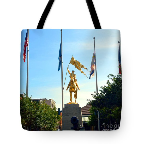 St Joan At Midday Tote Bag