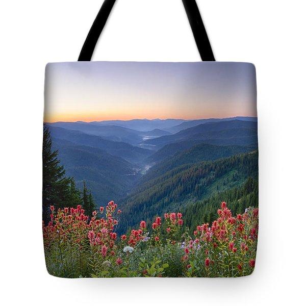 St. Joe Wildflowers Tote Bag