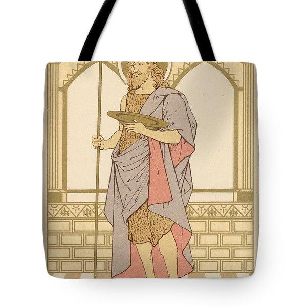 St John The Baptist Tote Bag by English School