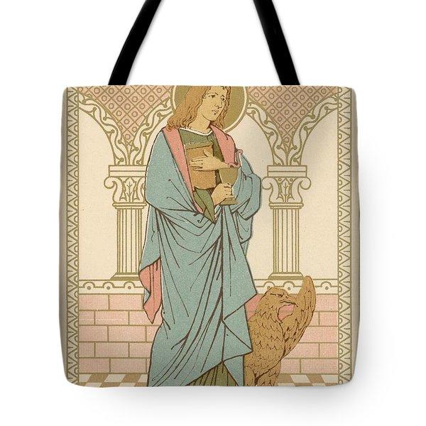 St John The Evangelist Tote Bag by English School