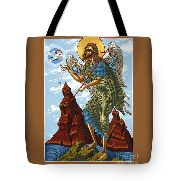 St. John The Forerunner Also The Baptist 082 Tote Bag