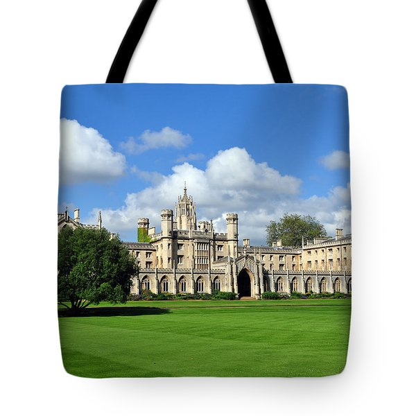 St. John's College Cambridge Tote Bag
