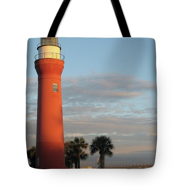 St. Johns River Lighthouse II Tote Bag by Christiane Schulze Art And Photography