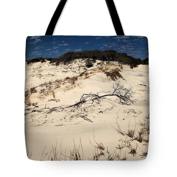 St. Joseph Sand Dunes Tote Bag by Adam Jewell
