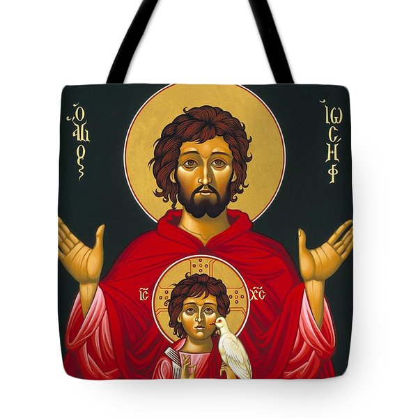 St. Joseph Shadow Of The Father 039 Tote Bag
