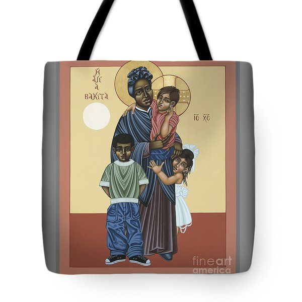 St. Josephine Bakhita Universal Sister 095 Tote Bag by William Hart McNichols