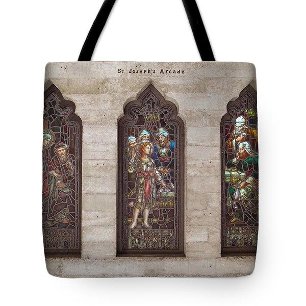 St Josephs Arcade - The Mission Inn Tote Bag