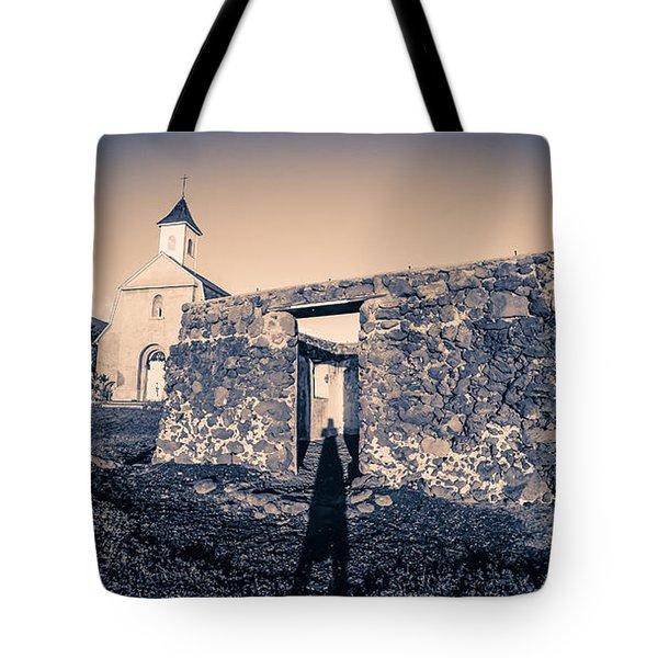 St. Josephs Church Maui Hawaii Tote Bag by Edward Fielding