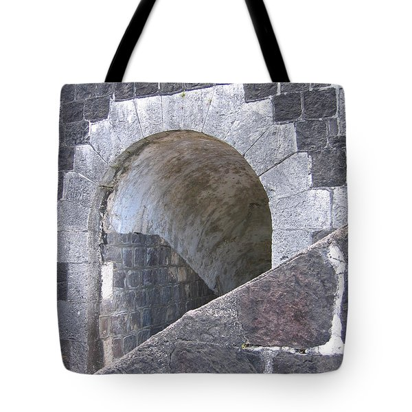St. Kitts  - Brimstone Hill Fortress Tote Bag by HEVi FineArt