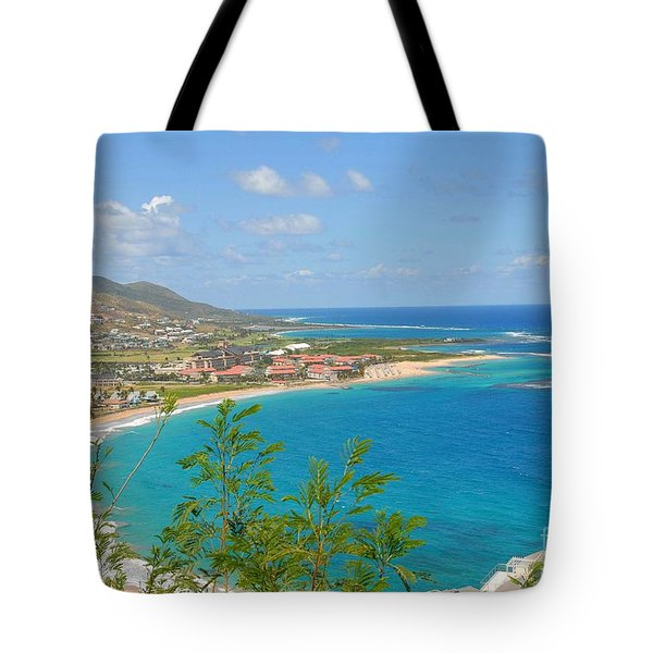 St. Kitts Tote Bag by Cindy Manero