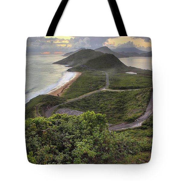 St Kitts Overlook Tote Bag