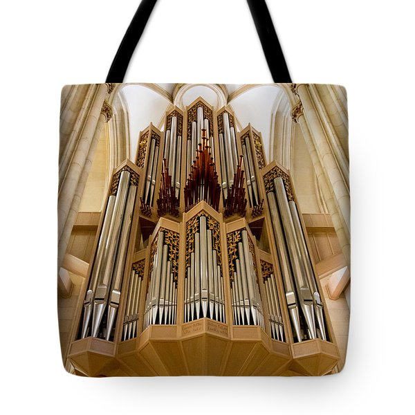 St Lambertus Organ Tote Bag